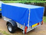 Ifor Williams P8E Mesh Sided Trailer